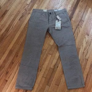 "Allsaints NWT Slim Fit ""Cannon"" Chinos Size 34"